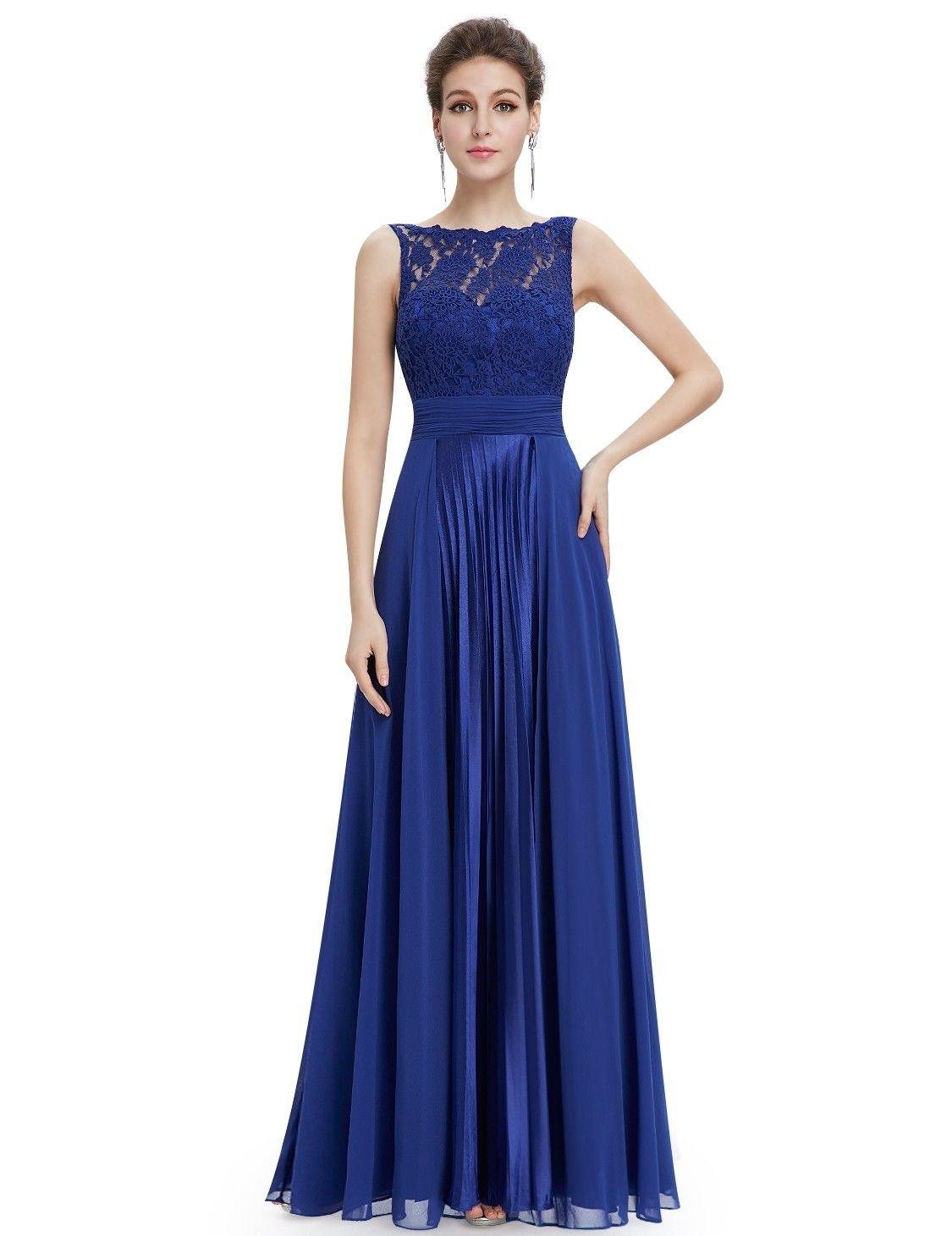 Designer Luxurius Kleid Royalblau Lang für 2019Designer Wunderbar Kleid Royalblau Lang Boutique