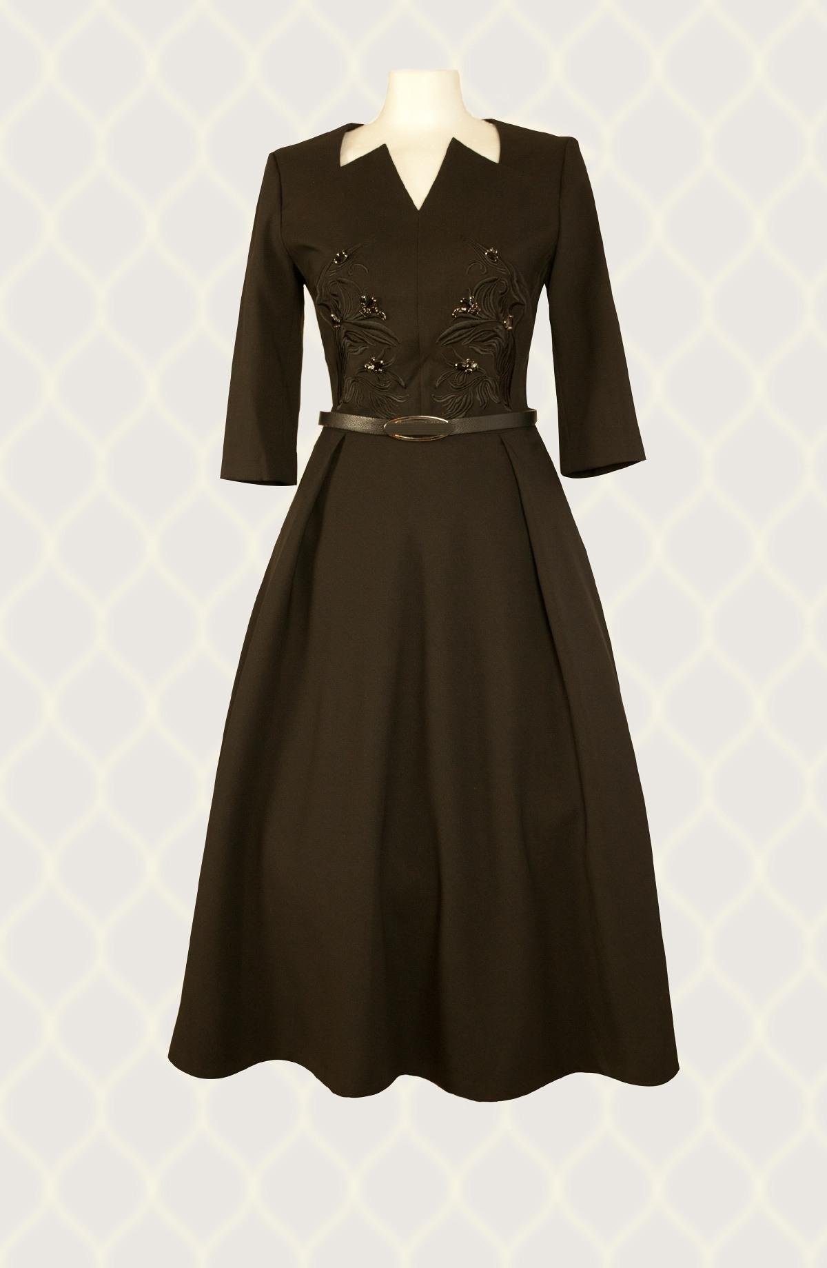 Abend Luxus Kleid Schwarz für 2019 - Abendkleid