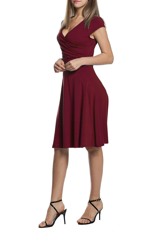 Designer Einzigartig Abendkleid Wickelkleid für 201915 Coolste Abendkleid Wickelkleid Vertrieb