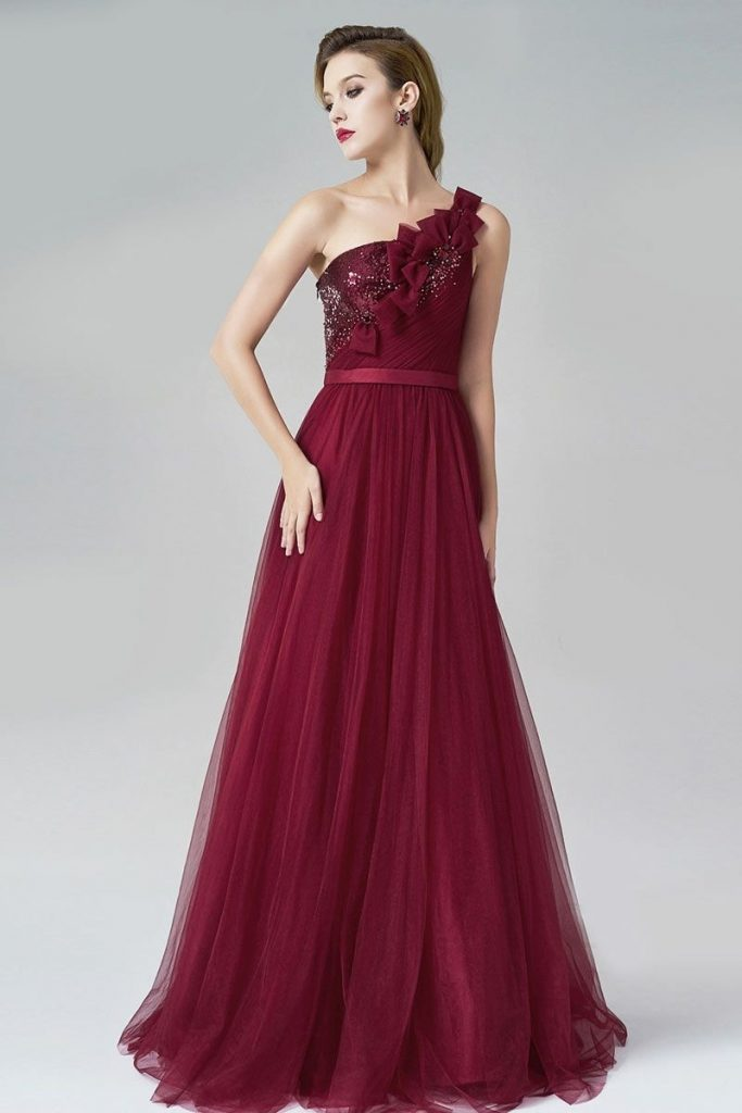 Abend Schon Abendkleider Lang Spitze Rot Galerie Abendkleid