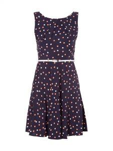20 Schön Kleid Blau Mit Punkten Vertrieb10 Kreativ Kleid Blau Mit Punkten Ärmel