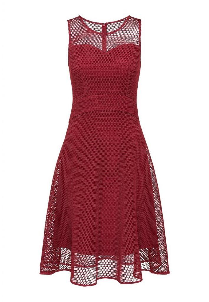 begrenzte garantie modisches und attraktives Paket feine handwerkskunst Abend Schön Kleid Rot Festlich Galerie - Abendkleid