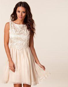 Abend Spektakulär Kleid Kurz Weiß Spitze Spezialgebiet ...
