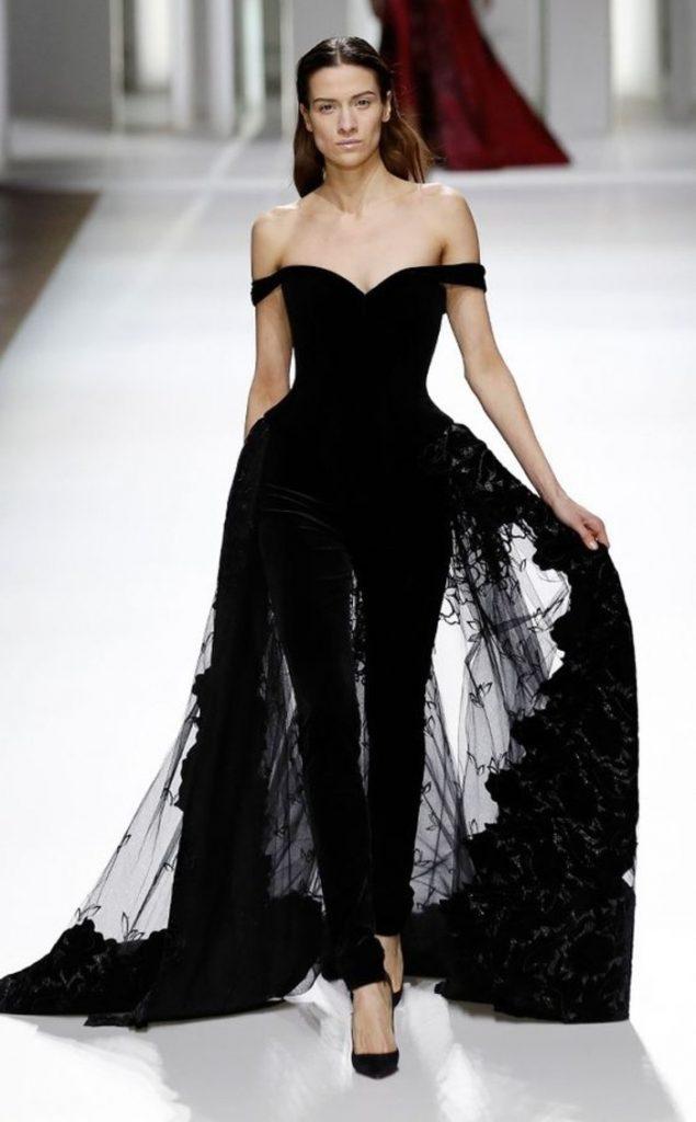 best authentic 4866a b3df2 Abend Spektakulär Schwarzes Langes Kleid Vertrieb - Abendkleid