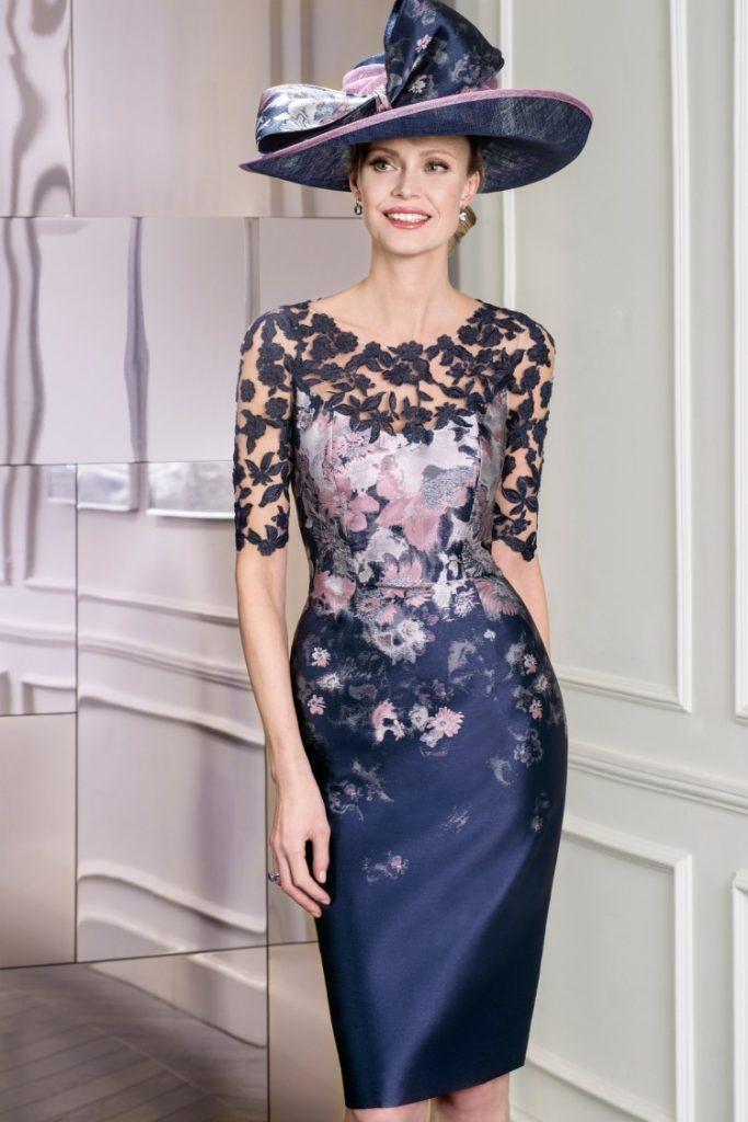 farblich passend Niedriger Verkaufspreis zuverlässiger Ruf Abend Top Kleid Brautmutter Hochzeit Ärmel - Abendkleid