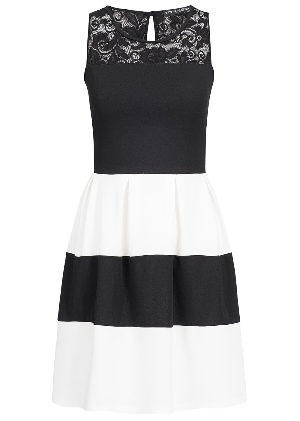 Designer Coolste Damen Kleid Schwarz Weiß Design20 Ausgezeichnet Damen Kleid Schwarz Weiß Design