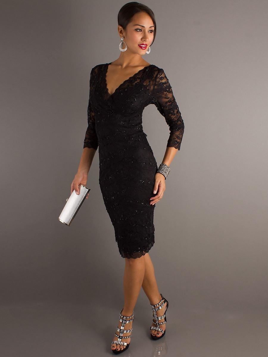 Luxus Elegante Kleider Knielang Mit Arm DesignAbend Ausgezeichnet Elegante Kleider Knielang Mit Arm Boutique