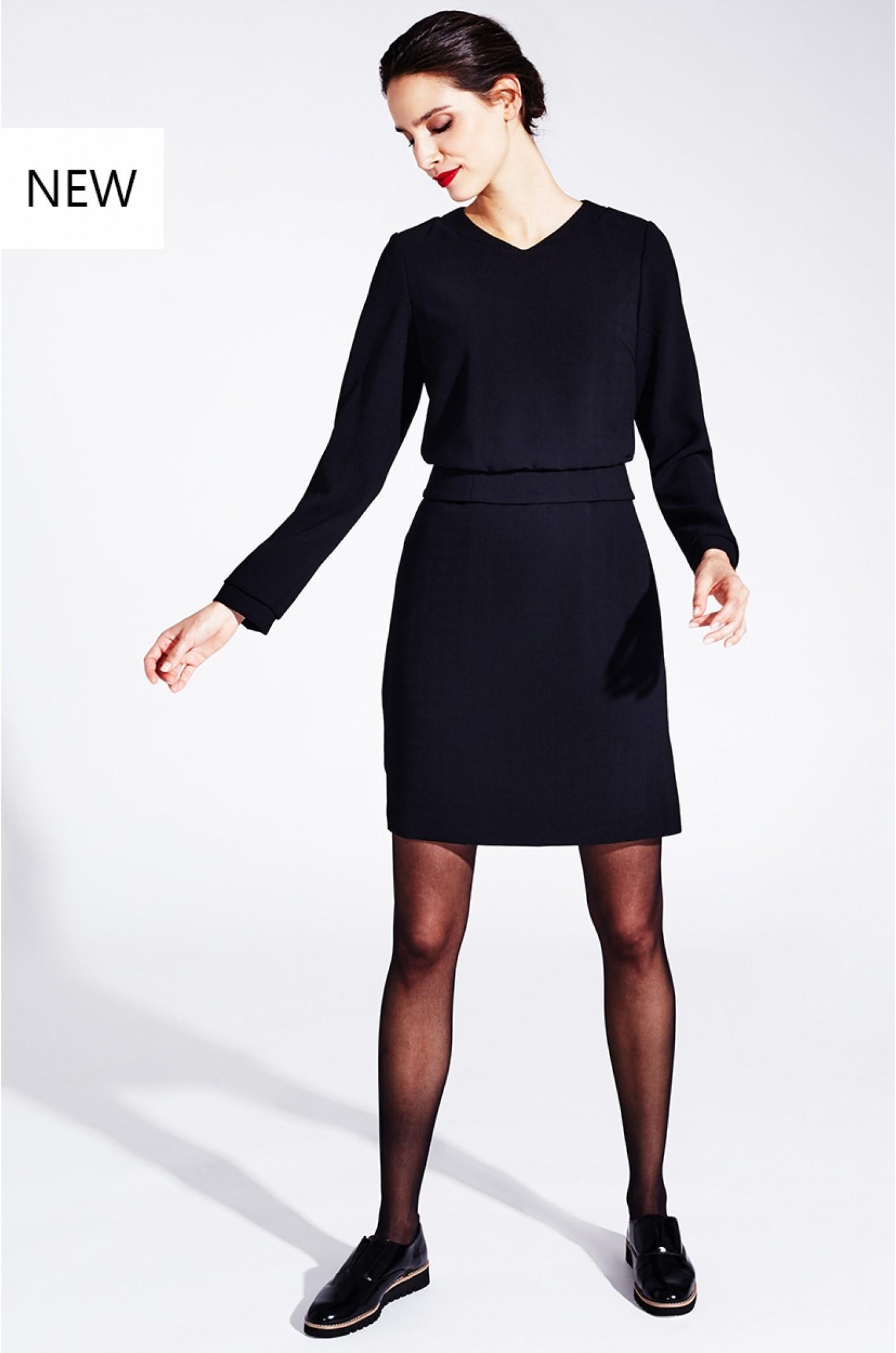 Genial Schwarzes Langarm Kleid für 201915 Genial Schwarzes Langarm Kleid Stylish