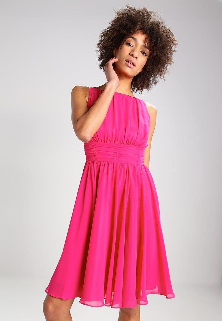 Abend Leicht Kleid Pink Boutique Einfach Kleid Pink Design