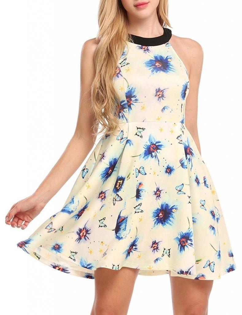 pretty nice 9d55b 55691 Ausgezeichnet Strandkleider Kurz Boutique - Abendkleid