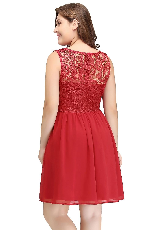 Spektakulär Rote Kleider Große Größen Design20 Einzigartig Rote Kleider Große Größen Ärmel