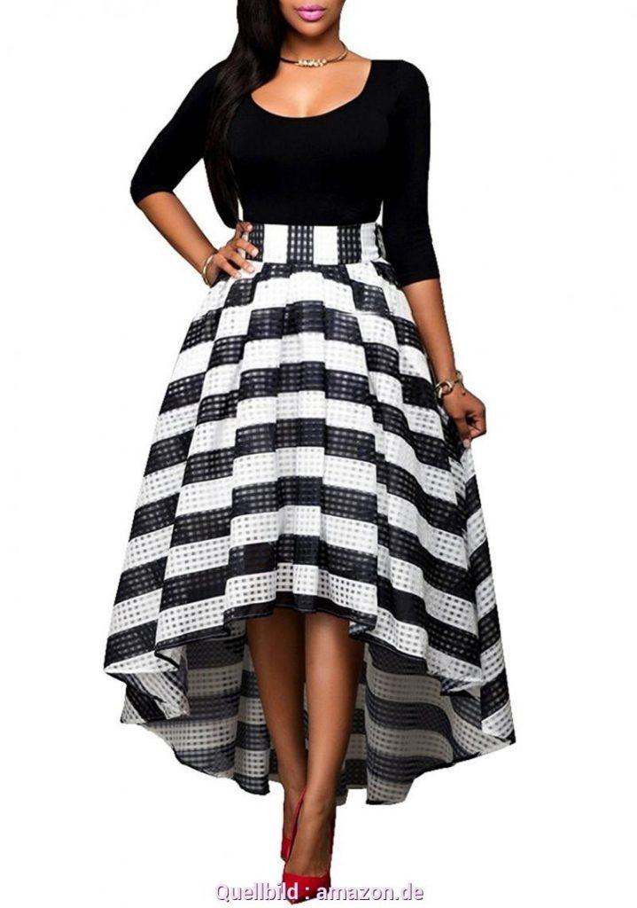 huge selection of 6b675 712e4 Coolste Damen Kleid Schwarz Weiß Bester Preis - Abendkleid