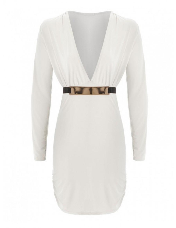 Großartig Weißes Kleid Mit Ärmeln VertriebFormal Coolste Weißes Kleid Mit Ärmeln Galerie
