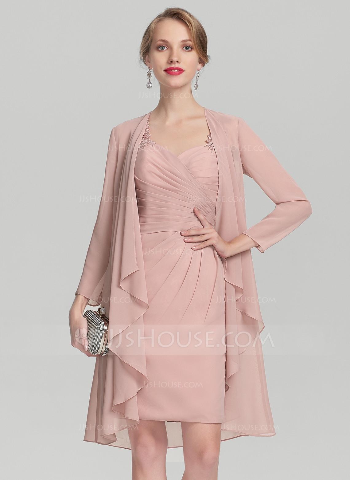 Formal Großartig Kleid Altrosa Knielang Galerie Fantastisch Kleid Altrosa Knielang Vertrieb