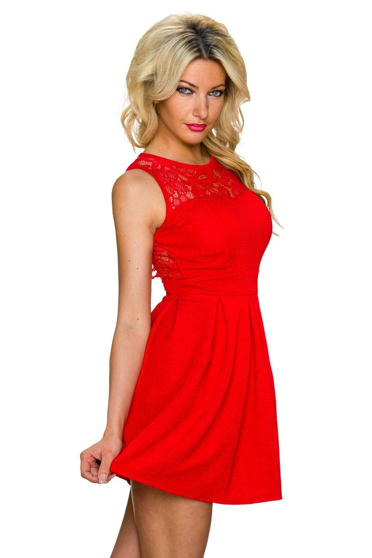 Formal Perfekt Kleid Kurz Spitze DesignAbend Cool Kleid Kurz Spitze Spezialgebiet