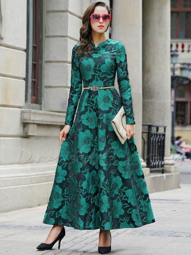 Designer Ausgezeichnet Langarm Kleider Maxi Vertrieb - Abendkleid