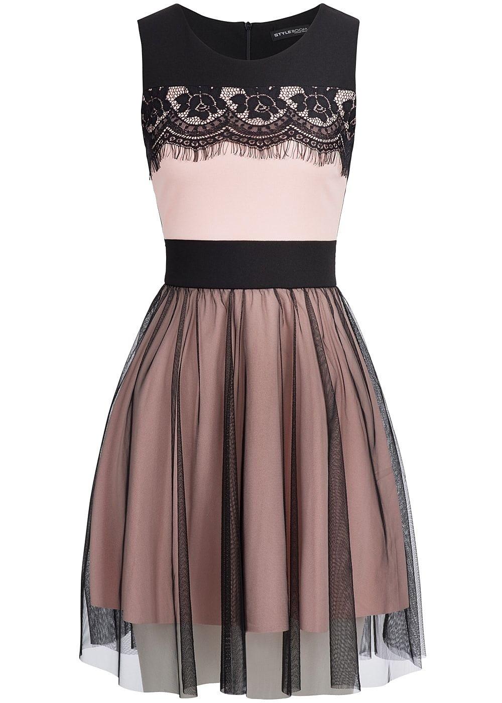 10 Erstaunlich Kleid Schwarz Rosa Stylish20 Schön Kleid Schwarz Rosa Spezialgebiet