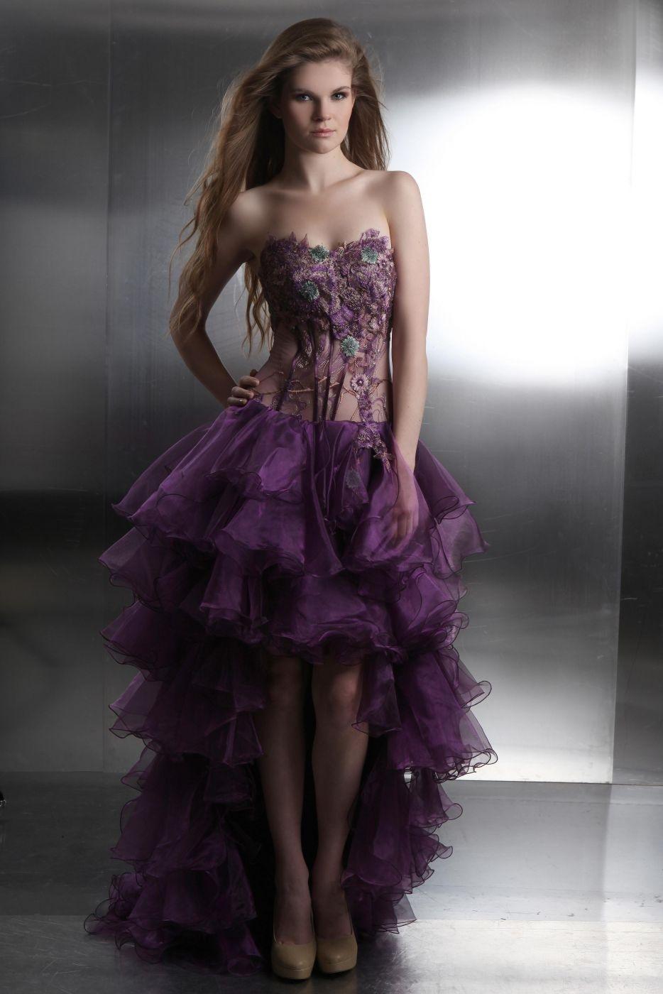 Designer Einfach Lila Kleid Festlich Boutique - Abendkleid