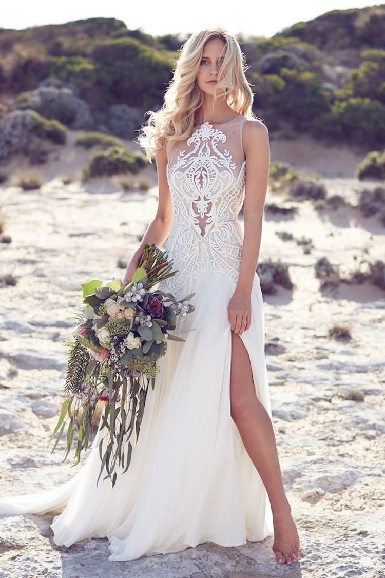 Designer Kreativ Strandkleid Hochzeit für 2019Designer Großartig Strandkleid Hochzeit Ärmel