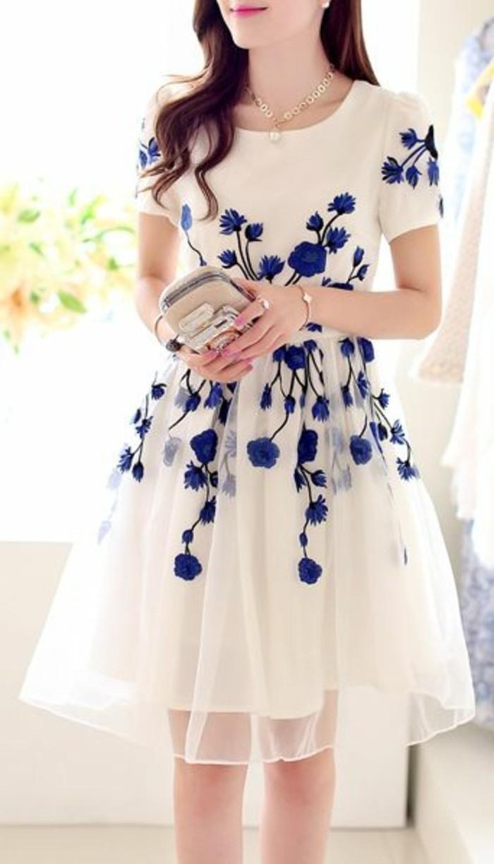13 Fantastisch Blau Weiße Kleider GalerieFormal Top Blau Weiße Kleider Boutique