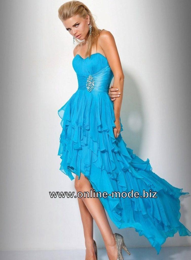 online store 0d3d8 9a5e9 Blaue Abendkleid Schöne Einzigartig Kleider Designer ...