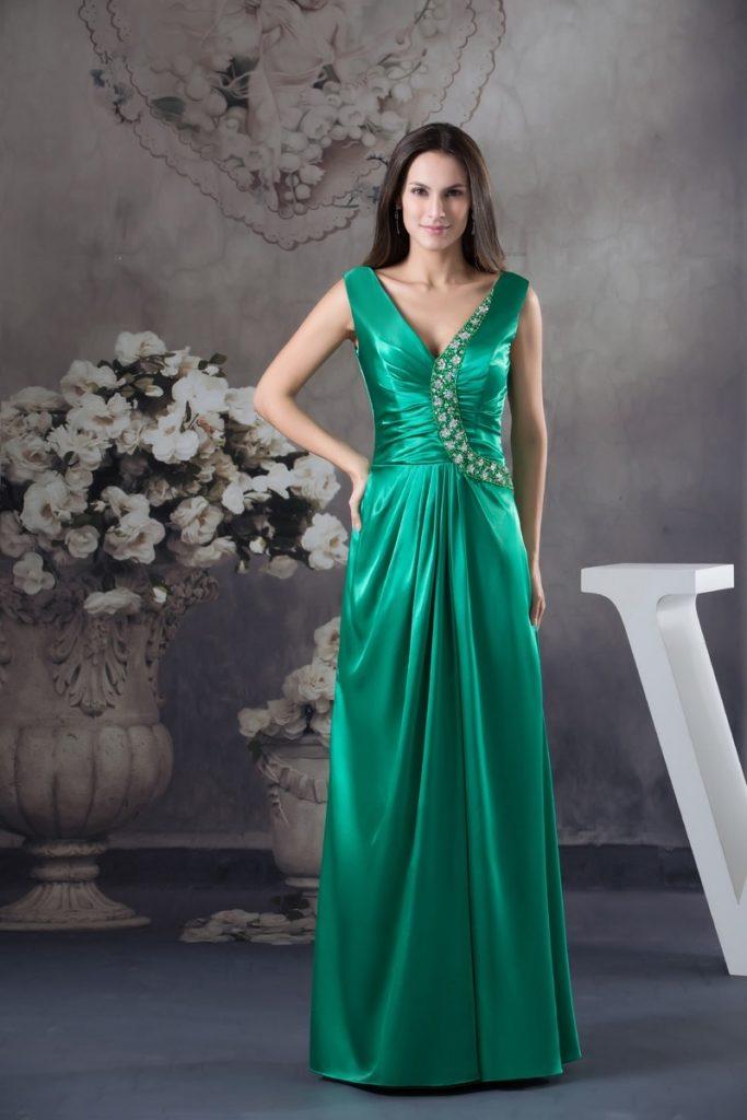 Designer Elegant Abendkleid Schlicht Spezialgebiet ...