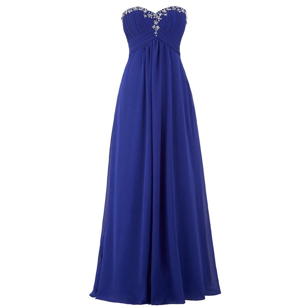17 Schön Kleid Lang Blau Galerie17 Fantastisch Kleid Lang Blau Bester Preis