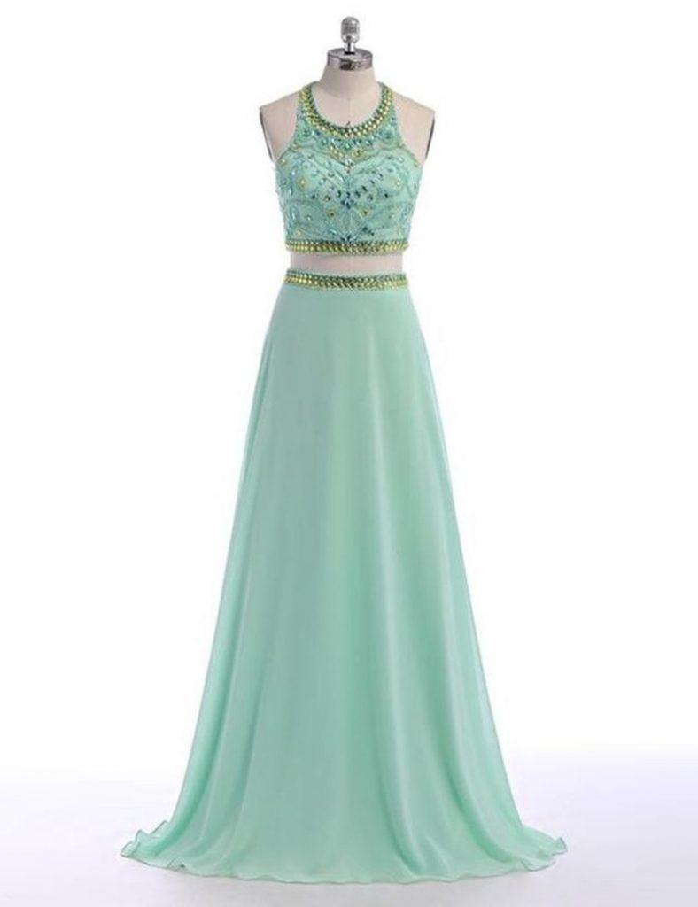 Designer Elegant Kleider Zweiteiliges Abendkleid Galerie - Abendkleid