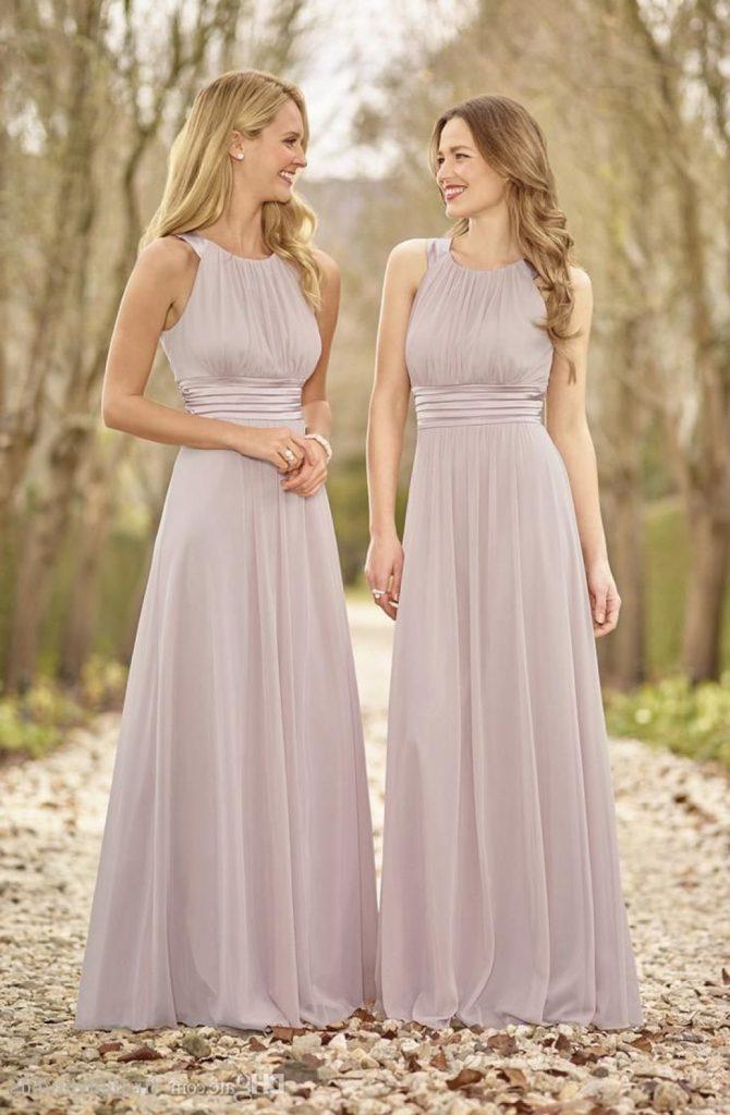 Designer Erstaunlich Kleid Altrosa Hochzeit Vertrieb ...