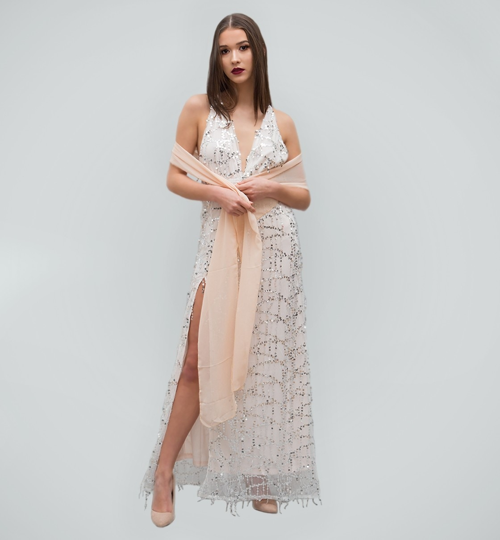 Designer Top Weißes Glitzer Kleid Design15 Kreativ Weißes Glitzer Kleid Spezialgebiet