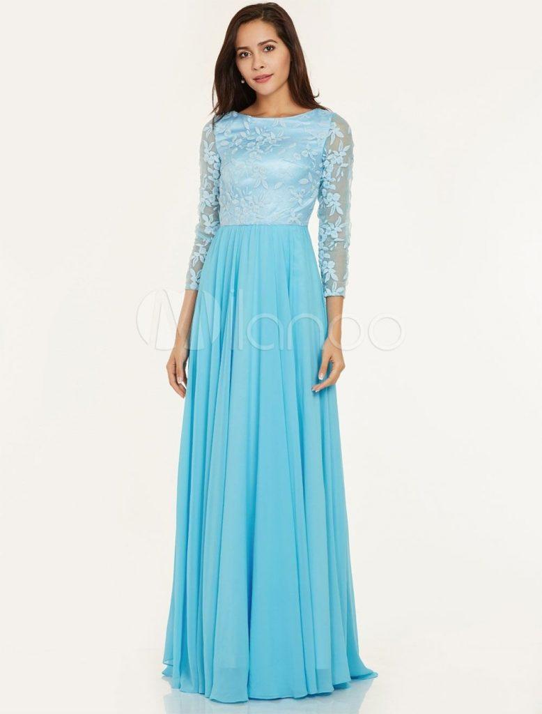 Designer Fantastisch Kleid Hochzeitsgast Lang Vertrieb ...
