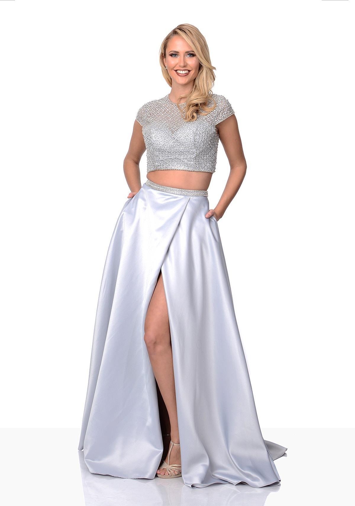 Designer Einzigartig Kleider Zweiteiliges Abendkleid Design15 Genial Kleider Zweiteiliges Abendkleid für 2019