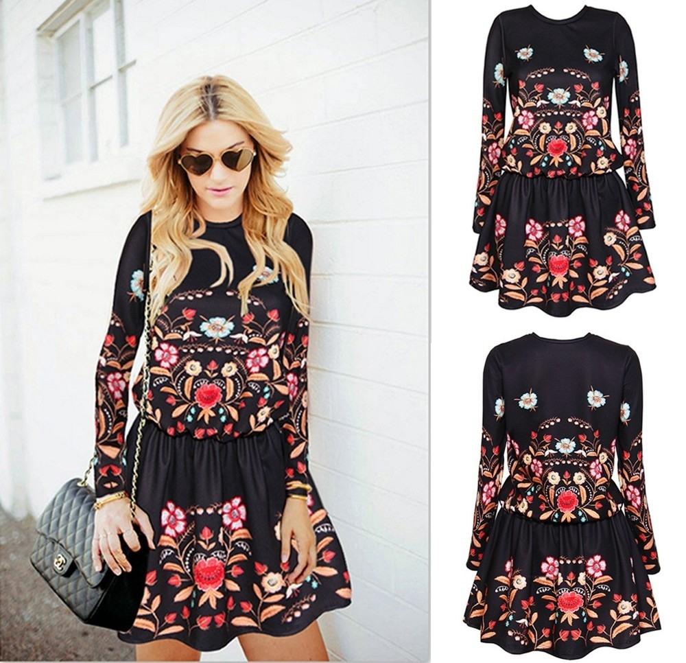 Genial Kleid Schwarz Mit Blumen DesignDesigner Einzigartig Kleid Schwarz Mit Blumen für 2019
