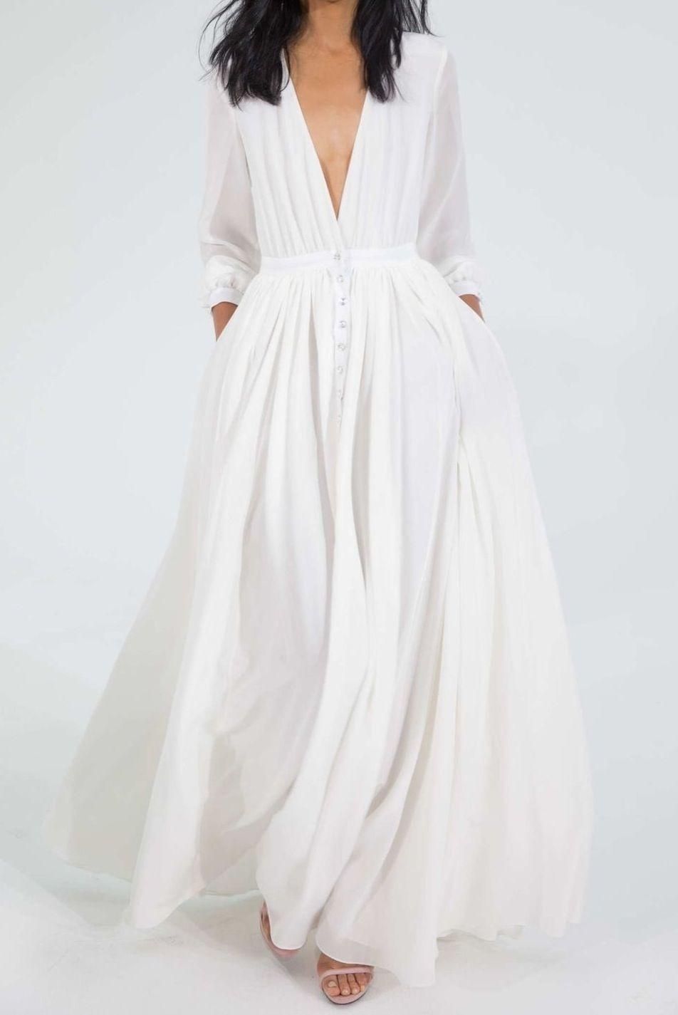 Schön Weißes Kleid Mit Ärmeln Spezialgebiet10 Cool Weißes Kleid Mit Ärmeln Boutique