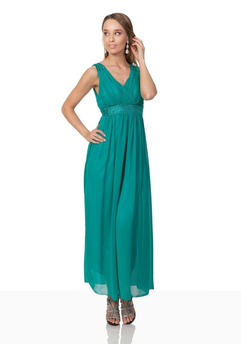 Formal Cool Abendkleid Türkis Ärmel Luxus Abendkleid Türkis Boutique
