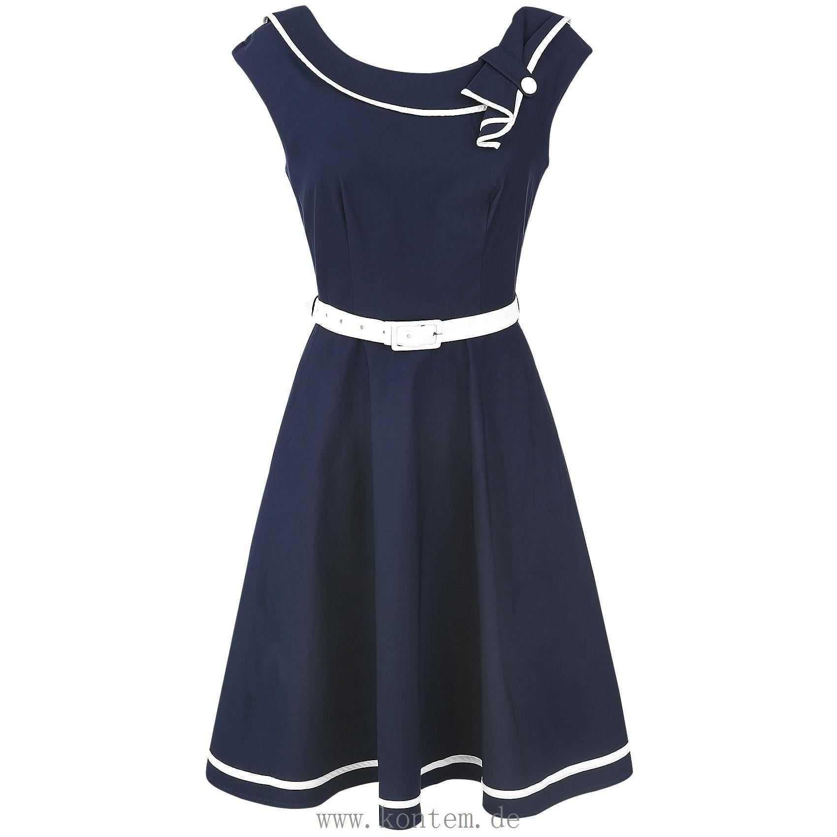 13 Perfekt Kleid Blau Weiß Design13 Genial Kleid Blau Weiß für 2019