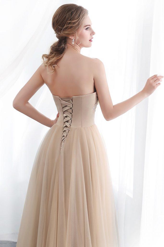 designer luxus abendkleider elegant lang stylish  abendkleid