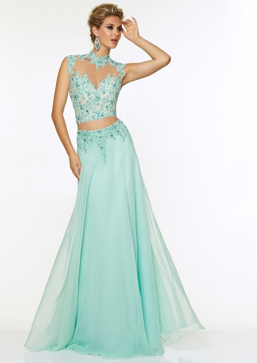 Leicht Abendkleid Blau Glitzer VertriebDesigner Genial Abendkleid Blau Glitzer Design
