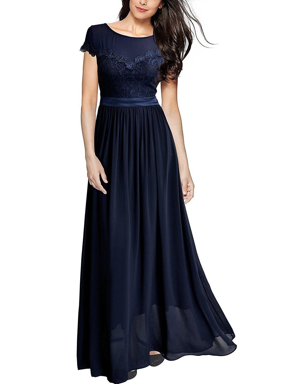 Einfach Dunkelblaues Kleid Lang Galerie Cool Dunkelblaues Kleid Lang Galerie