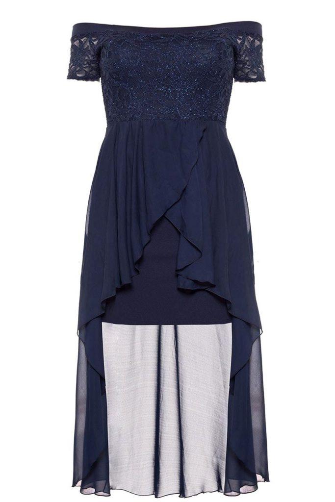 buy online e3875 ceb41 Designer Schön Elegante Kleider Größe 48 Vertrieb - Abendkleid