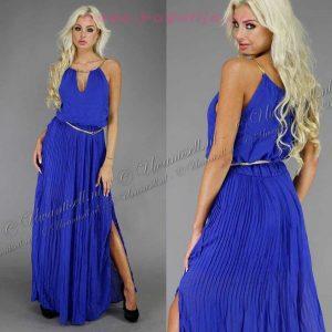 10 Fantastisch Kleid Lang Blau Boutique Schön Kleid Lang Blau Ärmel