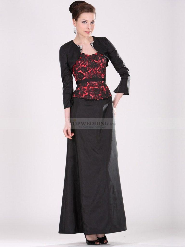 Mit Kleid Designer Schön Jacke Abendkleid Spezialgebiet pzVqSUM