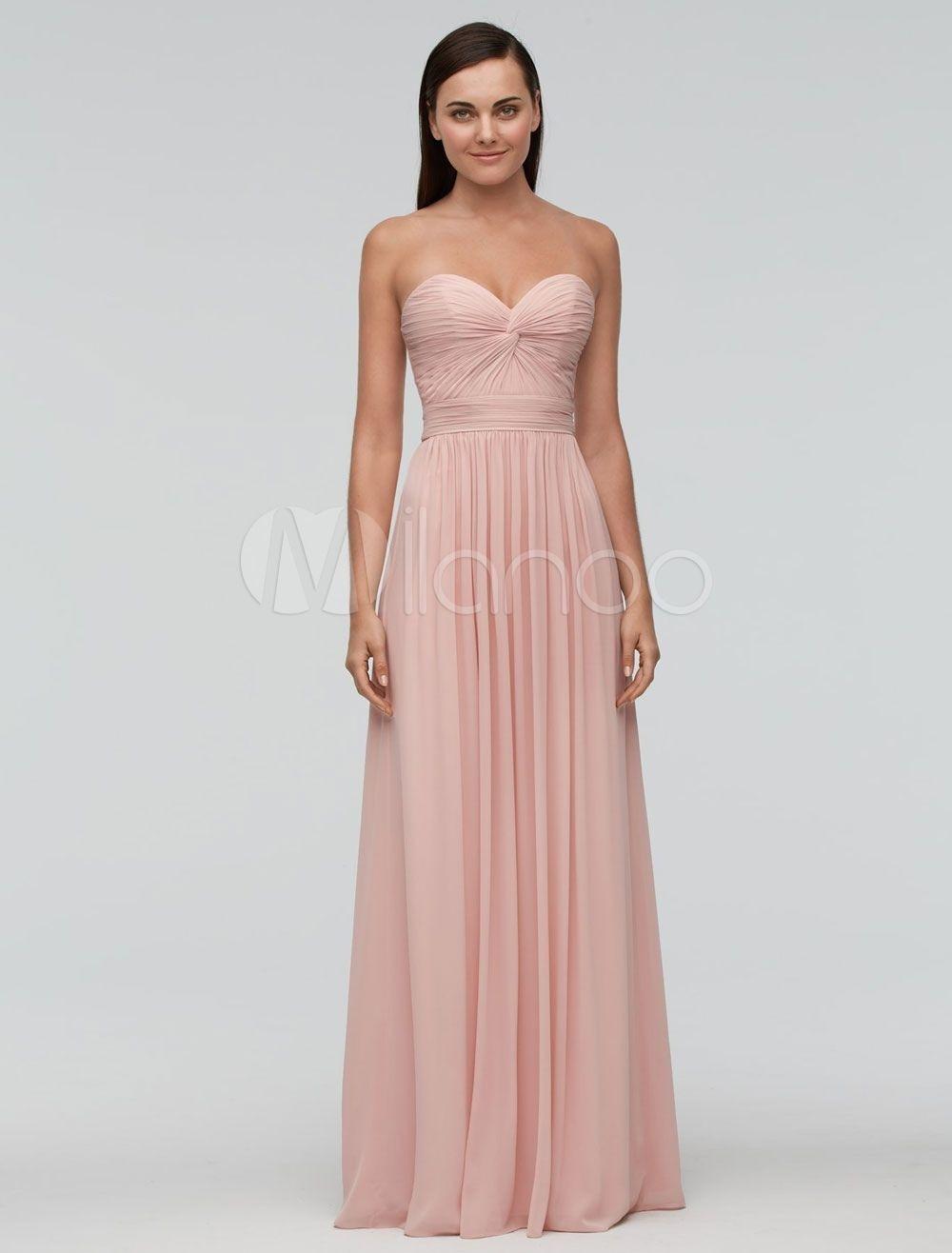 Formal Perfekt Kleid Rosa Hochzeit DesignFormal Elegant Kleid Rosa Hochzeit Design