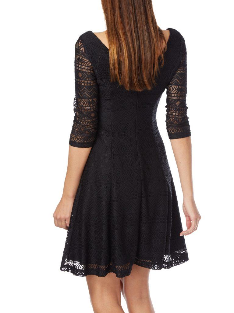 Faszinierend Kleid Kurz Schwarz Spitze Fotos - Bilder und ...