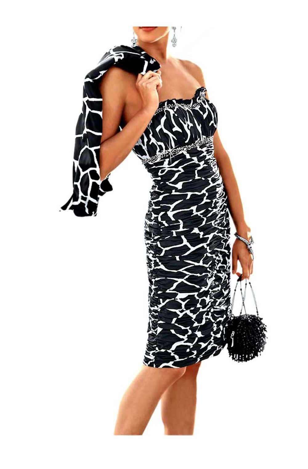 15 Schön Schwarz Weißes Kleid für 201920 Ausgezeichnet Schwarz Weißes Kleid Boutique
