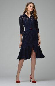 Genial Kleid Spitze Dunkelblau Vertrieb Einfach Kleid Spitze Dunkelblau Vertrieb