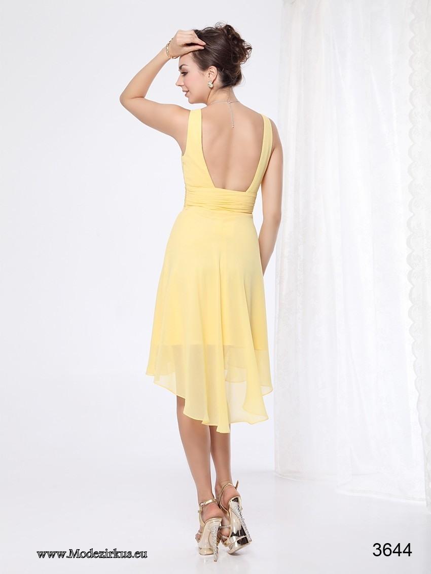 Abend Perfekt Kleid Gelb Kurz SpezialgebietAbend Einzigartig Kleid Gelb Kurz für 2019