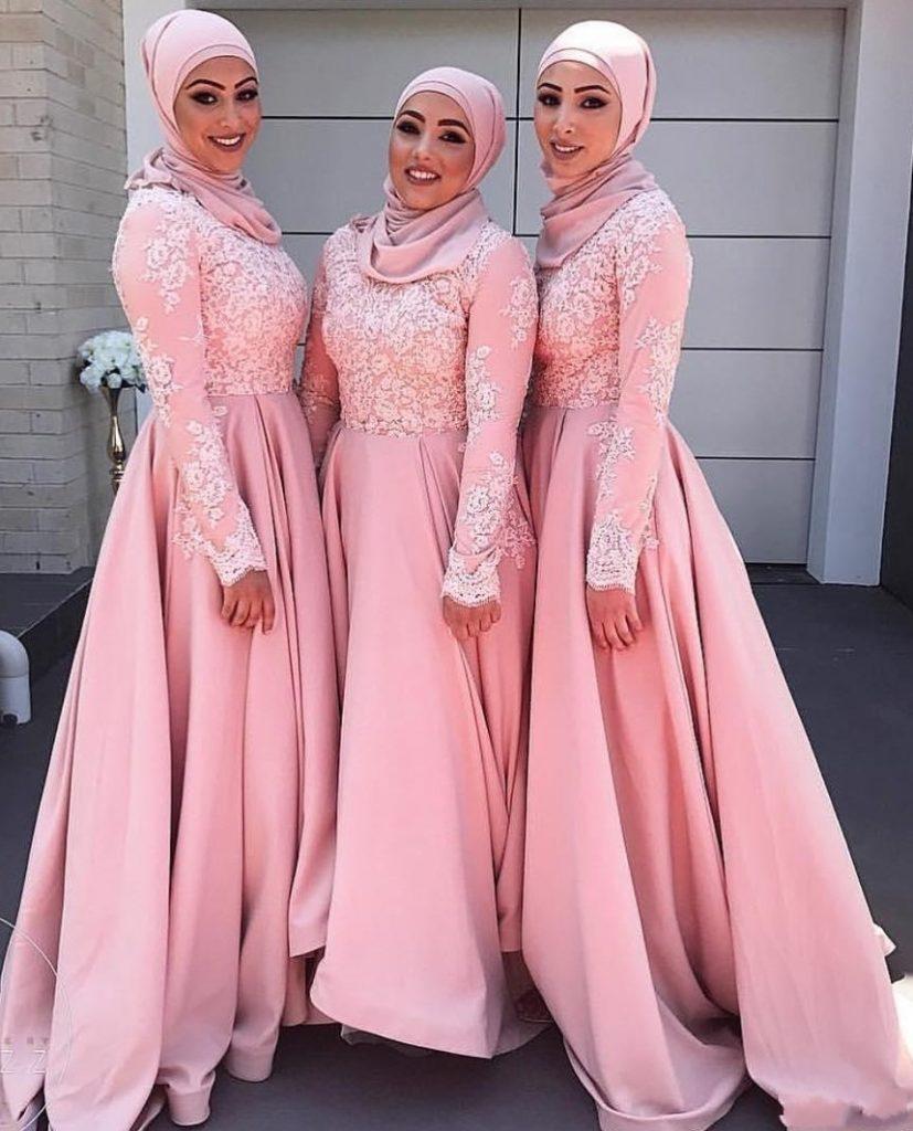 Designer Wunderbar Kleid Rosa Lang für 2019 - Abendkleid