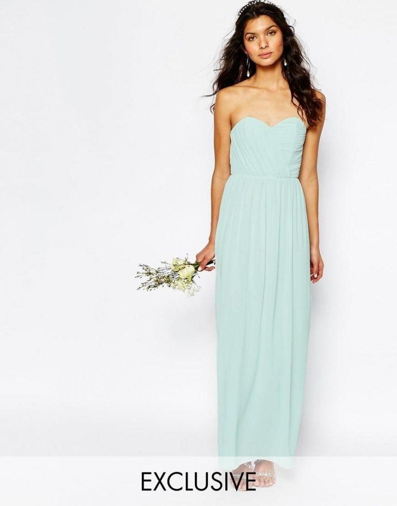 sehen 22cb3 2bf7e Einfach Maxi Kleider Hochzeit Galerie - Abendkleid