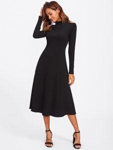 15 Schön Schwarzes Langarm Kleid DesignFormal Schön Schwarzes Langarm Kleid für 2019